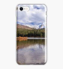 Manzanita Lake - Mount Lassen iPhone Case/Skin