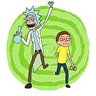 Stoner Rick And Morty by SpockJenkins