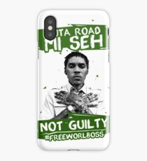 Out A Road #FREEWORLBOSS GREEN iPhone Case/Skin