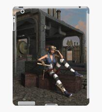 Steampunk Blaze  iPad Case/Skin