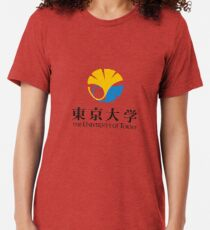 University of Tokyo Logo Tri-blend T-Shirt
