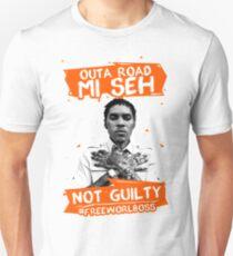 Out A Road #FREEWORLBOSS ORANGE Unisex T-Shirt