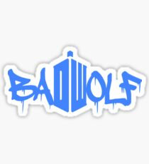 Badwolf Sticker