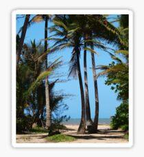 Pathway to Wonga Beach, North Queensland  Sticker