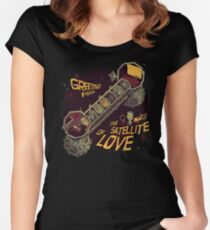 Mystery Science Theater 3000 (MST3K) Women's Fitted Scoop T-Shirt
