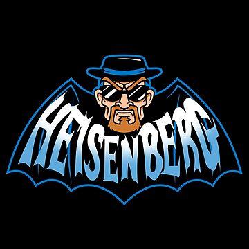 Heisenberg Man by JakGibberish