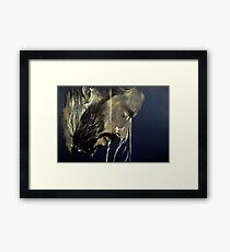 flowing, featured in Art Universe Framed Print