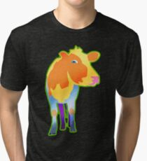 Cosmic Cow Tri-blend T-Shirt