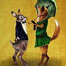 Fox and Hare von AnnaShell