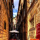 Dubrovnik Alleyway by Tom Gomez