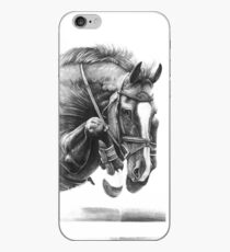 Catching Air - Showjumping Horse iPhone Case