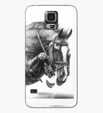 Catching Air - Showjumping Horse Case/Skin for Samsung Galaxy