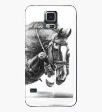 Funda/vinilo para Samsung Galaxy Catching Air - Caballo de salto de obstáculos