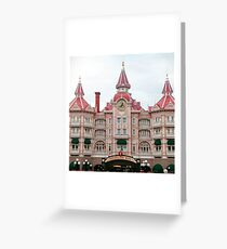 Paris hotel Greeting Card