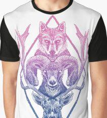 Camiseta gráfica Wolfram Hart (Color)