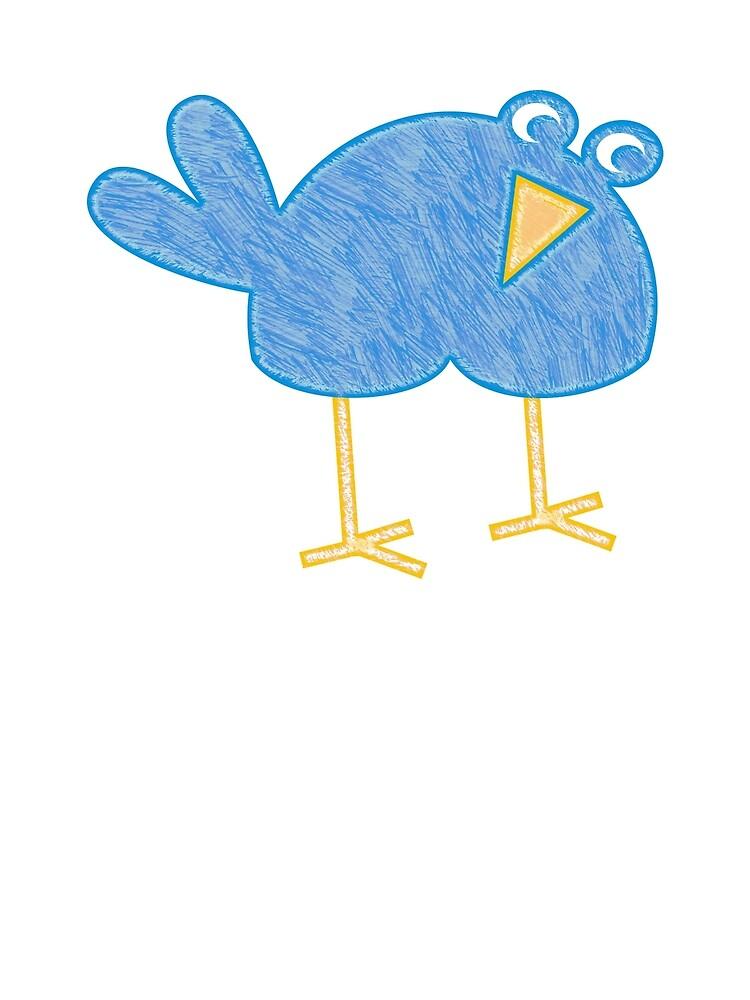 Blue Bird by evisionarts