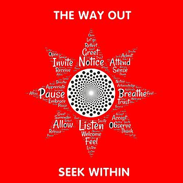 The way out: Seek within by hellfinger