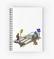 Crosswalk Spiral Notebook