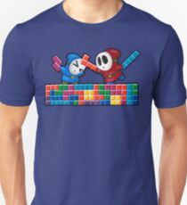 Shy Guys Playing Tetris T-Shirt