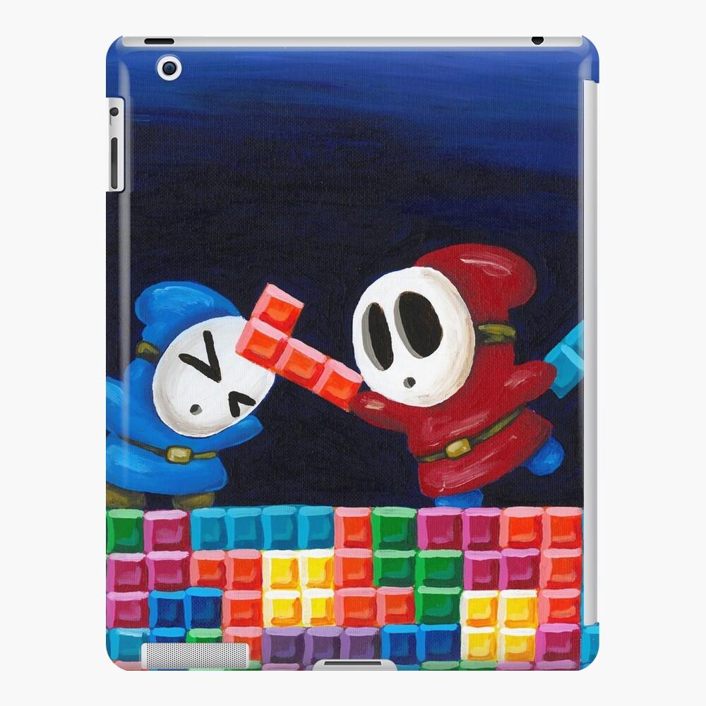 Shy Guys jugando al Tetris Funda y vinilo para iPad