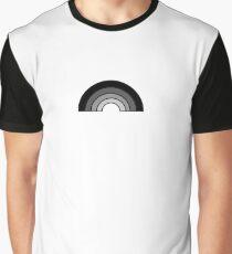 Monochrome Rainbow Graphic T-Shirt