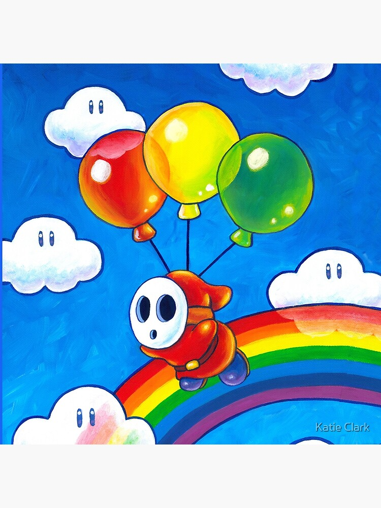 Flight of the Sky Guy by KatieClarkArt