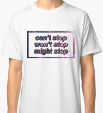 Game Grumps - Can't Stop Won't Stop Might Stop Classic T-Shirt
