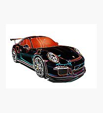 SUPERCAR PORSCHE Photographic Print