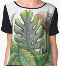Lucky Lizard  Women's Chiffon Top