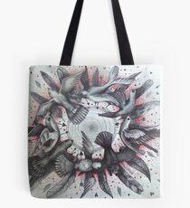 world wind of love birds Tote Bag