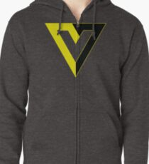 Voluntaryism / Voluntarism  Zipped Hoodie