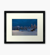 Winter fairy tale at Grouse  Framed Print