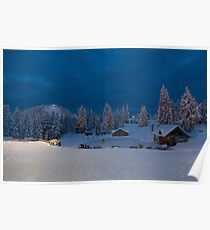 Winter fairy tale at Grouse  Poster