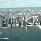 Aerial View, Jersey City, New Jersey by lenspiro