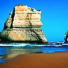 Apostle Rock On The Great Ocean Road Victoria by Ronald Rockman