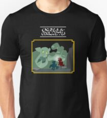 Ogres and Oubliettes - white text T-Shirt