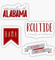 University Of Alabama Pack Sticker