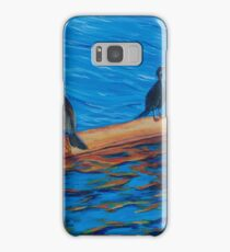resting cormorants Samsung Galaxy Case/Skin