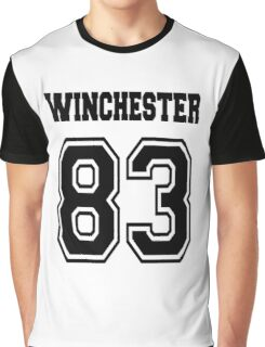 Winchester 83 Sam - Black Graphic T-Shirt