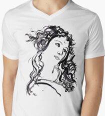 Primavera  Men's V-Neck T-Shirt