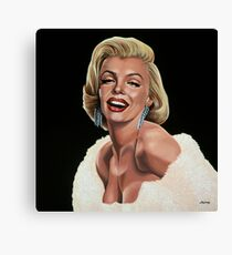 Marilyn Monroe Painting Canvas Print