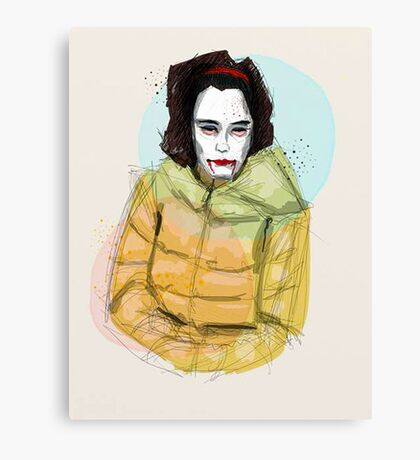 Ms Scary Canvas Print