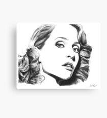 Gillian Anderson- Fault photoshoot Canvas Print