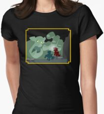 Ogres and Oubliettes - NO text Womens Fitted T-Shirt
