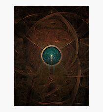 Earthly Brown Emerald Eye Photographic Print