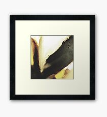 Earthy Tones Abstract Framed Print