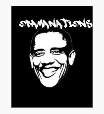 Obamanations Shirt Photographic Print