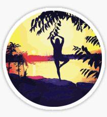 Yoga Circle Sticker