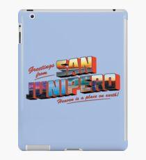 san junipero iPad Case/Skin