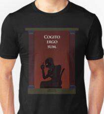 Cogito Ergo Sum - I think therefore I am. Unisex T-Shirt